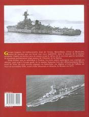 Croiseurs De 7600 Tonnes - 4ème de couverture - Format classique