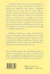 Hoa ou les portes de la vie - 4ème de couverture - Format classique