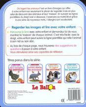 Ou Logent Les Animaux - 4ème de couverture - Format classique