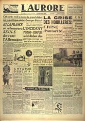 Aurore (L') N°1164 du 11/06/1948 - Couverture - Format classique