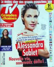 Tv Grandes Chaines N°207 du 03/03/2012 - Couverture - Format classique