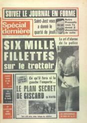 Special Derniere N°372 du 16/04/1976 - Couverture - Format classique