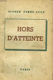 Hors D'Atteinte - Couverture - Format classique