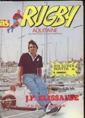 As Rugby Aquitaine N°11 - Jp Elissade - Couverture - Format classique
