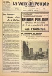 Voix Du Peuple De Touraine (La) N°1268 du 14/11/1965 - Couverture - Format classique