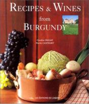 Vente  Recipes and wines of Bourgogne  - Collectif