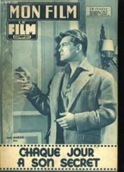 Mon Film N° 633 - Chaque Jour A Son Secret - Couverture - Format classique