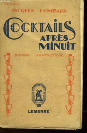 Cocktails Apres Minuit - Couverture - Format classique