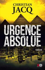 Vente  Urgence absolue  - Christian Jacq