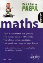 Mathématiques ; mp-mp* - Intérieur - Format classique