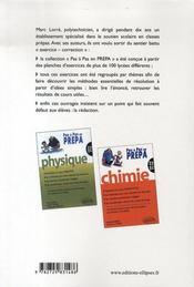 Mathématiques ; mp-mp* - 4ème de couverture - Format classique