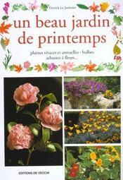 Un Beau Jardin De Printemps - Intérieur - Format classique
