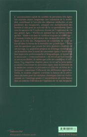 La Sante Aux Grands Ages - 4ème de couverture - Format classique