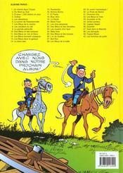 Les tuniques bleues t.30 ; la rose de Bantry - 4ème de couverture - Format classique