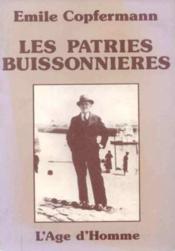Les Patries Buissonnieres - Couverture - Format classique