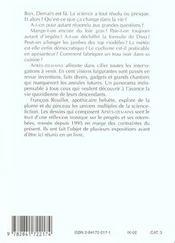 Apres Demains Cent Vues Imprenables Sur Le Futur - 4ème de couverture - Format classique