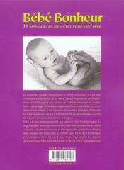 Bebe Bonheur - 4ème de couverture - Format classique