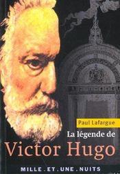 La Legende De Victor Hugo - Intérieur - Format classique