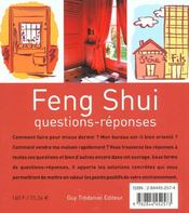 Feng Shui - 4ème de couverture - Format classique