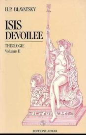 Isis Devoilee - T.2 Theologie - Couverture - Format classique