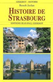 Histoire De Strasbourg - Couverture - Format classique