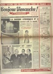 Bonjour Dimanche N°106 du 13/06/1948 - Couverture - Format classique