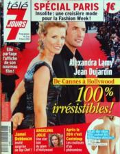 Tele 7 Jours N°2701 du 03/03/2012 - Couverture - Format classique