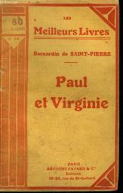 Paul Et Virginie. Collection : Les Meilleurs Livres N° 58. - Couverture - Format classique