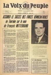 Voix Du Peuple De Touraine (La) N°1269 du 21/11/1965 - Couverture - Format classique