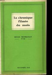 La Chronique Filmee Du Mois N°32 - Couverture - Format classique