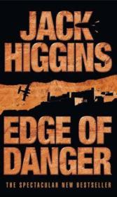 Vente livre :  EDGE OF DANGER  - Jack Higgins
