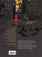 Miss t.1 ; bloody manhattan - 4ème de couverture - Format classique