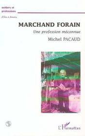 Marchand forain, une profession méconnue - Intérieur - Format classique