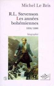 Stevenson, Les Annees Bohemiennes - Couverture - Format classique