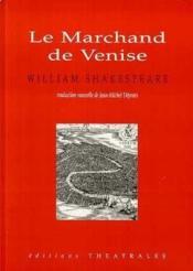 Le Marchand De Venise - Couverture - Format classique