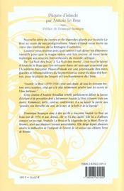Paques d'islande - 4ème de couverture - Format classique