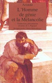 L'Homme De Genie Et La Melancolie - Intérieur - Format classique