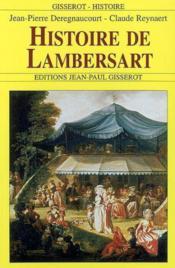 Histoire De Lambersart - Couverture - Format classique