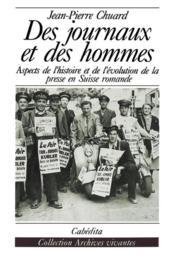 Des Journaux Et Des Hommes - Couverture - Format classique