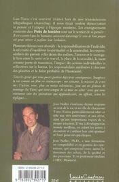 Puits De Lumiere - 4ème de couverture - Format classique