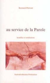 Au Service De La Parole - Couverture - Format classique