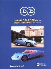 Db ; la renaissance du sport automobile en france - Intérieur - Format classique