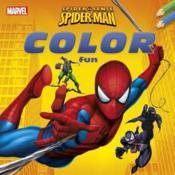 Spider-man ; color fun - Couverture - Format classique