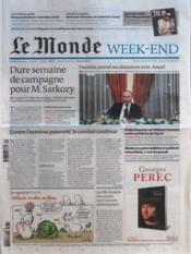 Monde (Le) N°20876 du 03/03/2012 - Couverture - Format classique