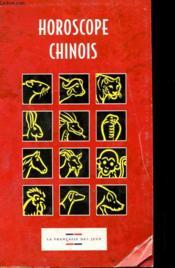 Horoscope Chinois - Couverture - Format classique