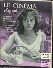 Le Cinema Chez Soi N°25 - N°26 - 5eme Annee - Couverture - Format classique