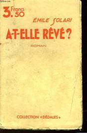 A-T-Elle Reve? - Couverture - Format classique