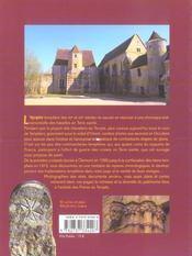 Sur les pas des templiers en terre de France - 4ème de couverture - Format classique
