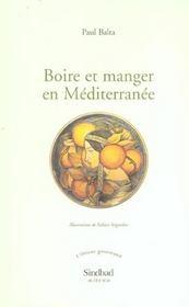 Boire et manger en Méditerranée - Intérieur - Format classique
