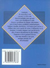 Petites Enigmes Pour Grands Penseurs - 4ème de couverture - Format classique